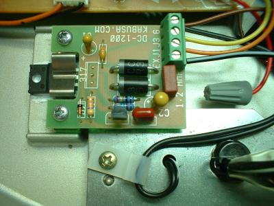 DC1200 Internal Regulator