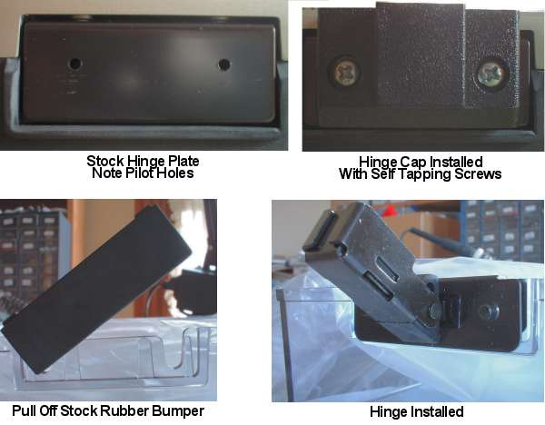 Technics Cabinet Hinge Support dust cover SL 1200 1210 LTD MK2 MK3 M3D MK5 M5G